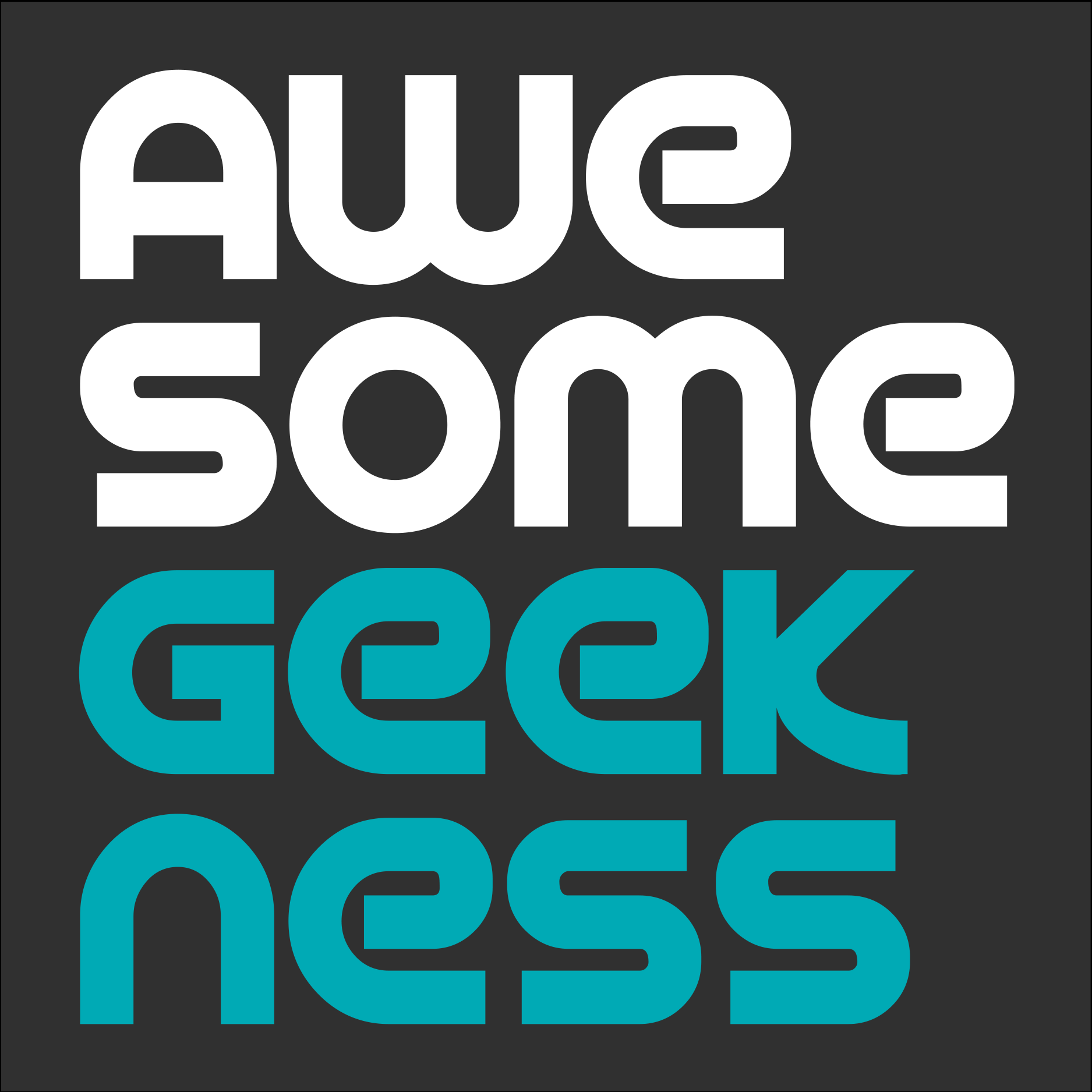 Awesome Geekness Square Logo.png